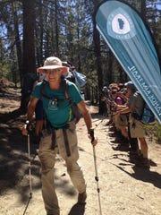 Ellen Goldsmith has through-hiked the Tahoe Rim Trail 13 times.