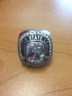 Roy Denson of Cape Coral found Ashley Adams' stolen Fort Myers Miracle championship ring and returned it.