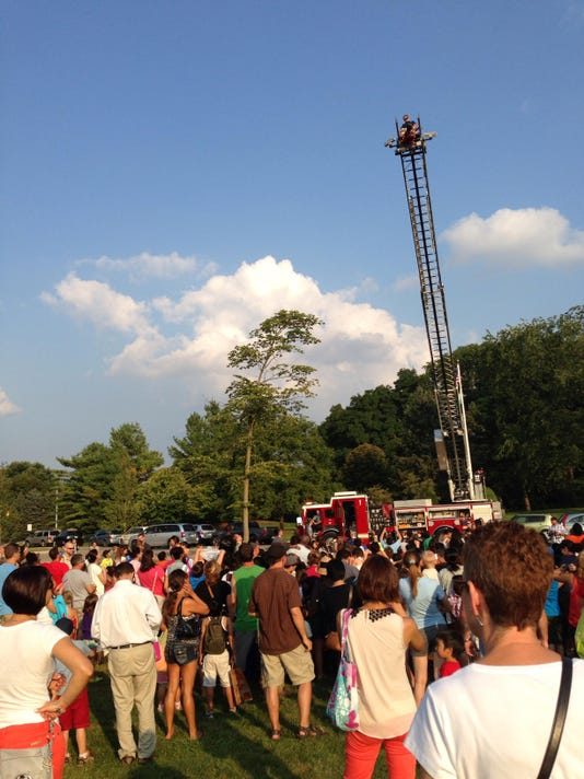 Ladder Truck at Marshmallow Fly & Fry