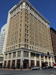 The 12-story Midland Building in downtown Des Moines was built in 1913.