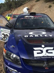 Racers test the course on Wednesday on the Rally Utah course in Shurtz Canyon south of Cedar City.
