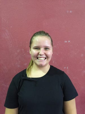 Jenna is a star pupil who loves sports.