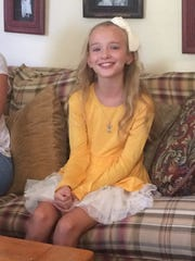 Megan Bloxham, 9, of Santa Clara, has been modeling professionally since age 4.