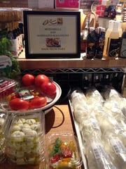 DeRomo's Gourmet Market & Restaurant in Bonita Springs makes fresh mozzarella daily.
