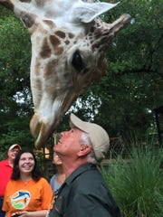 Zoosiana owner George Oldenburg gets up-close with