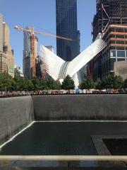 The new Transportation Hub at the World Trade Center
