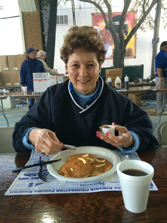 ply 2 Fall Fest pancakes