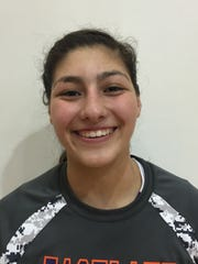 Megan Martinez is Eastlake's junior hitter.