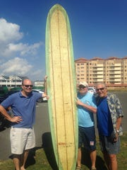 Tom Eadon, Ted Geiser (cemter) and Chuck Kunes with