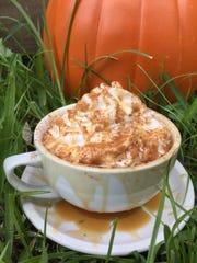 Johnston Street Java offers its pumpkin pie latte year