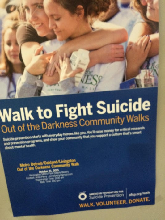 liv 2 Suicide prevention walks