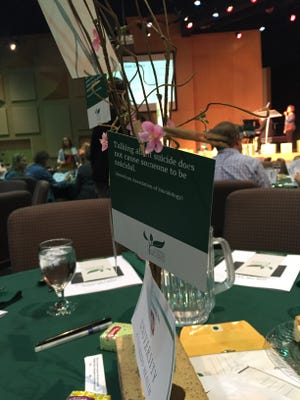 Alliance for Suicide Prevention of Larimer County held its annual awareness and fundraising breakfast Tuesday, Sept. 29, 2015.