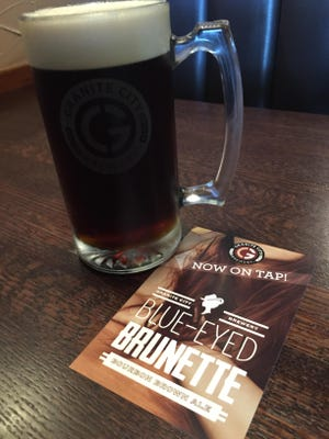 Granite City Food & Brewery will have a tapping party for Blue-Eyed Brunette.