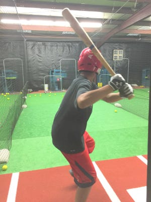 Champions Sports Academy in Silver City houses five batting cages to cater to all levels of baseball and softball.