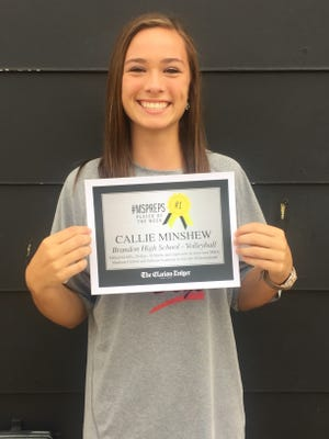 Callie Minshew is the #MSPreps player of the week