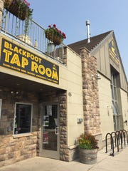 Blackfoot River Brewing in Helena shares a block of Park Avenue with a bar, a bakery and a Mediterranean restaurant.