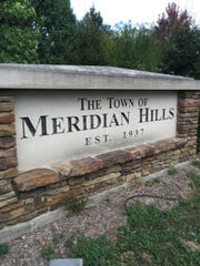 Meridian Hills Boulevard in Meridian Hills is the of frequent accidents