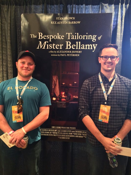"""The Bespoke Tailoring of Mister Bellamy"" director and writer 2015 LAFP"