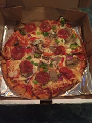 Sal's Pizzeria and Grill's Supreme pizza