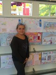 Watchung Fire Department annual Fire Prevention week poster contest winner, Danielle Di Donato, 4th grade.