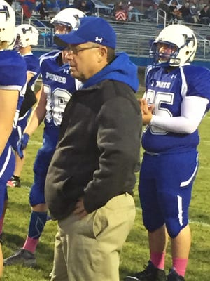 Havre High head coach Mark Samson and the Blue Ponies won the Central A championship and will meet Columbia Falls next week in the playoffs.