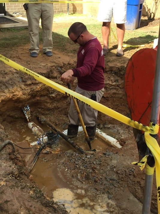Wetumpka Middle Water Problem