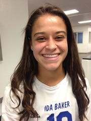 Marcela Montoya, an Ida Baker High senior, looks forward to playing for the Under-20 Colombian women's soccer team this month at the South American FIFA U-20 World Cup qualifer in Santos, Brazil.