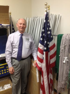 """ENMU still has flags left over from its """"Field of Flags"""" sales of recent years."""