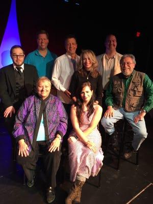 "The cast of ""Ascend"" is, first row from left, Jill Weston, Lorraine Bennett; second row, John Carroll, Beth Buczkowski, Lou Ligouri; third row, Craig Hawkins, Randy Messing, Michael Farley."