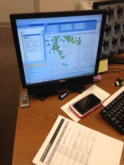 A virtual map of Lee County shows where every school