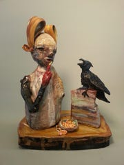 """""""The Popular People"""" is a sculpture created by Stacey Johnson."""