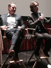 Bryan Cranston and Jay Roach at Cinemas Palm d'Or