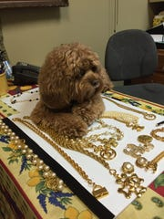 Lulou checks out the latest arrival of Chanel jewelry