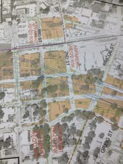 The 2nd and 3rd Street interchange design for the I-49
