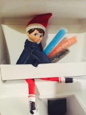 The Elf on the Shelf has returned.