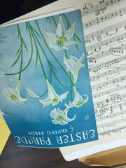 Librarians discovered this score to Easter Parade,