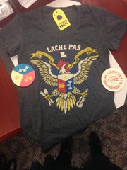 Lafayette's Parish Ink is known for its line of apparel,