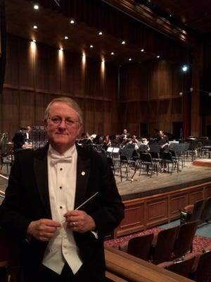 Florida State University Band director and music professor Dr. Patrick Dunnigan will conduct Tuesday's Tallahassee Winds Ensemble concert at Opperman Music Hall