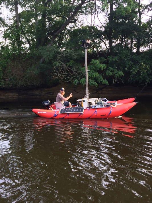Virtual kayak the Nanticoke River on delaware river fishing maps, sayre athens history maps, kayaking potomac river maps,