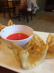 Crab cheese wontons at Pho 85 in Ankeny.