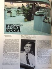 An 1984 article in a NOMDA Spokesman publication features Mark Hadley and Hadley Office Products.