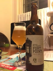 Trillium's Galaxy Dry Hopped Fort Point Pale Ale is
