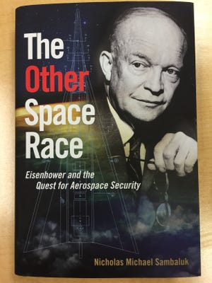 Purdue professor Nick Sambaluk examines the space security policies of President Dwight Eisenhower and the Air Force.