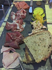 Assiette de Charcuterie from Cure, located in the Rochester Public Market.