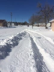 Around 50 travelers were stranded in Corona as the blizzard Golaith made it's way through the area.