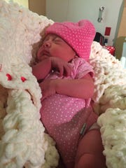 Amy Guadalupe Mercado was born on January 1, 2016 at