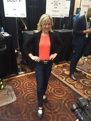 Columnist Jennifer Jolly wears the Belty.