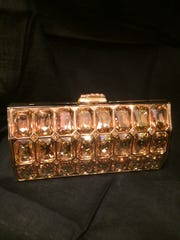 Jeweled Judith Leiber evening bag available at Jody's in the Oil Center.