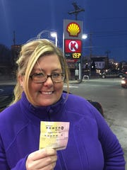 Laurie Soloway bought her first Powerball ticket Tuesday night.
