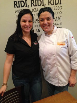 Sisters Claudia, left, and Loredana Bolla opened Trattoria Mia in south Fort Myers in September.